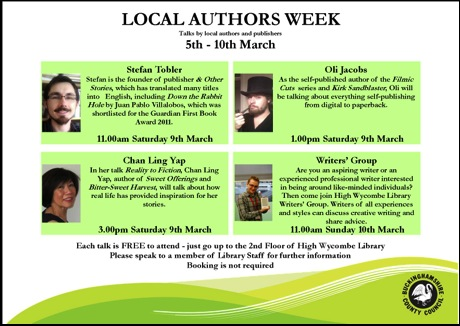Local Authors Week